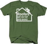 Roofers Get On Top & Bang Funny Roofing