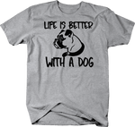 CamoLife is Better with a Dog Boxer Pug Boston Terrier K9