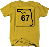 Florida State Highway Route 67 Scenic Sign