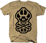 FlagK9 Paw Skull Crossbones Tactical Dog