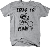 Distressed - This is How I Roll Mountain Bike BMX Dirt Track