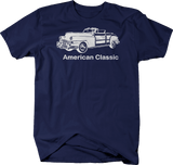 American Classic Woody Wood Panel 50's 60's Car Tshirt