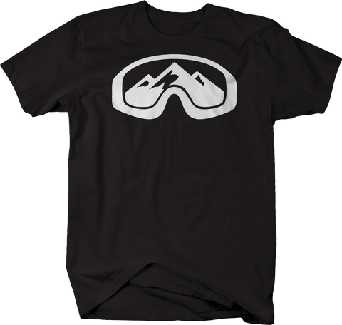Ski Goggles with Mountain Snowboarding Skiing Winter Sports