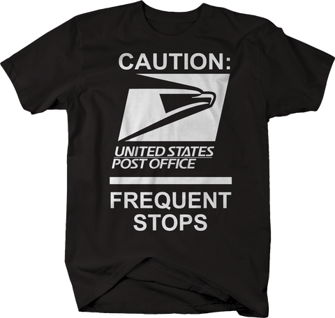 USPS Caution Frequent Stops Post Office