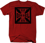 Iron Cross Diesel Black Smoke Coal Flames