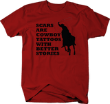 Scars are Cowboy Tattoos with Better Stories Rodeo Country