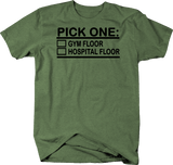 Pick One Gym or Hospital Floor Workout Healthy Lifestyle
