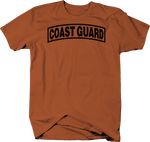 Coast Guard Military Tab Patch Design