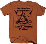 Just Another Beer Drinker with a Camping Problem Campfire