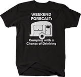 Weekend Forecast Camping with a Chance of Drinking