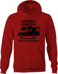 Weekend Forecast Camping Chance of Drinking RV