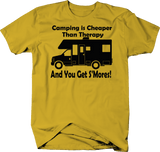 Camping is Cheaper than Therapy & You Get S'mores RV Motorhome Travel