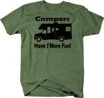 Campers Have S'more Fun Camping Travel Trailer Motorhome