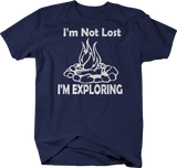 I'm Not Lost I'm Exploring RV Campfire Outdoors Hunting Fishing