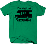 I'm Not Lost I'm Exploring RV Motorhome Trailer