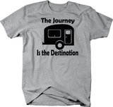 The Journey is the Destination Camper RV Travel Adventure