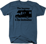 The Journey is the Destination Motorhome Adventure Quote