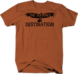Journey is the Destination Soaring Eagle Travel Adventure Quote