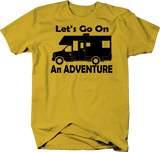 Let's Go on an Adventure RV Motorhome Camping Travel