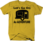 Let's Go on an Adventure RV Camper Camping Travel