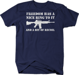 Freedom Has a Nice Ring to it & a Bit of Recoil Tactical AR15 Rifle NRA