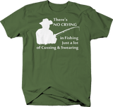 No Crying in FishingJust a Lot of Cussing & Swearing Funny Fish