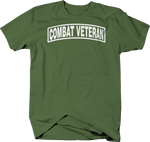 Combat Veteran Military Shoulder Tab Design