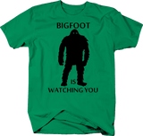 Bigfoot is Watching You Squatch Yeti Funny Hunting