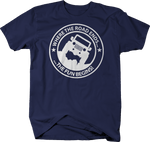 Where the Road Ends the Fun Begins Navy Shirt