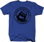 Where the Road Ends the Fun Begins Royal Blue Shirt