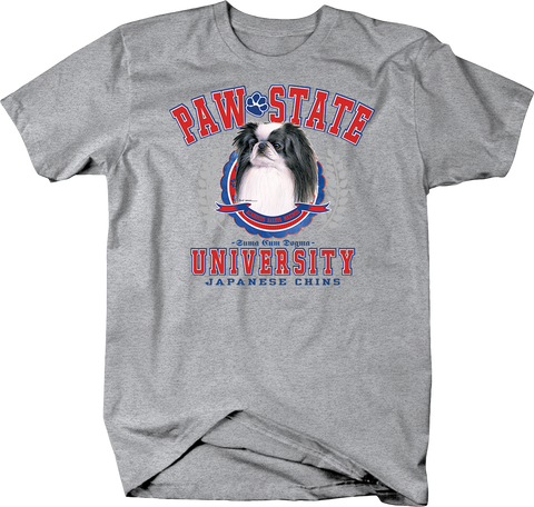 Paw State University Japanese Chins Dog Shirt