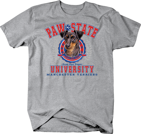 Paw State University Manchester Terriers Dog Shirt