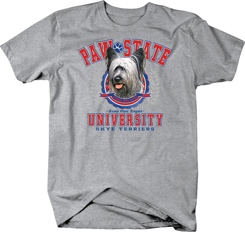 Paw State University Skye Terriers Dog Shirt