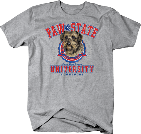 Paw State University Yorkipoos Dog Shirt