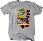 Skate Rat Skater Kid Doing Tricks Shirt