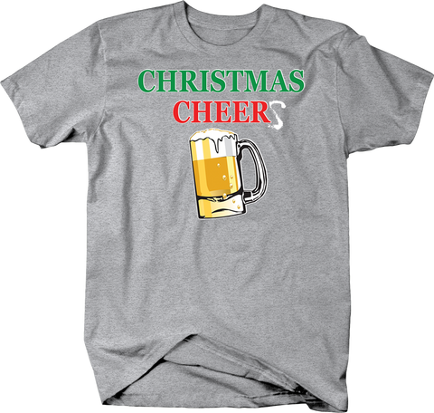 Christmas Cheer Beer in Beer Mug Shirt Santa