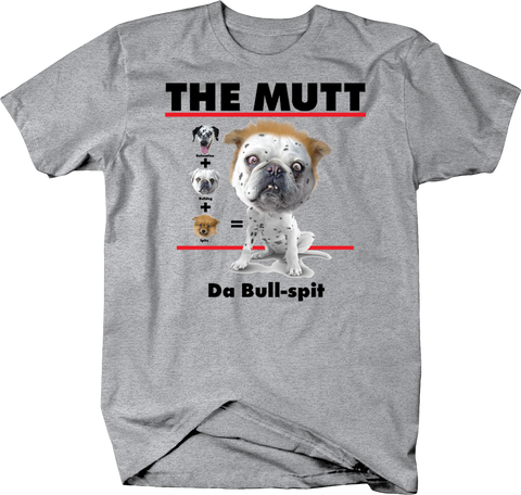 The Mutt Da Bull-Spit Dalmatian Bulldog Spitz Cute Ugly Funny Puppy Dog
