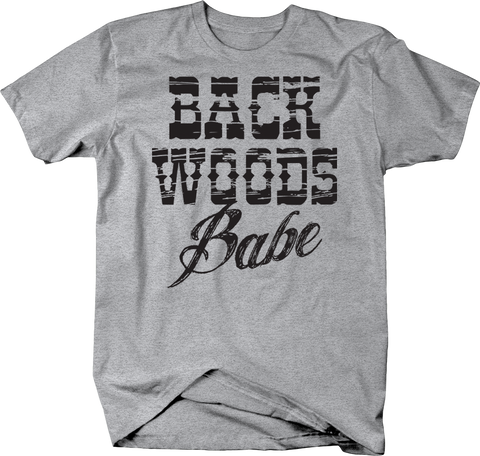 Back Woods Babe Country Redneck Rodeo Cowgirl Southern Comfort
