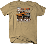 Orange Hemi Trucks 1500 2500 3500 V6 V8 American Made
