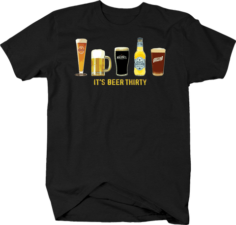 It's Beer Thirty Drinking Time Tee