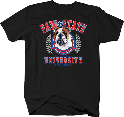 Paw State University Bulldogs Animal Lover Dog Puppy Bark Treat Family