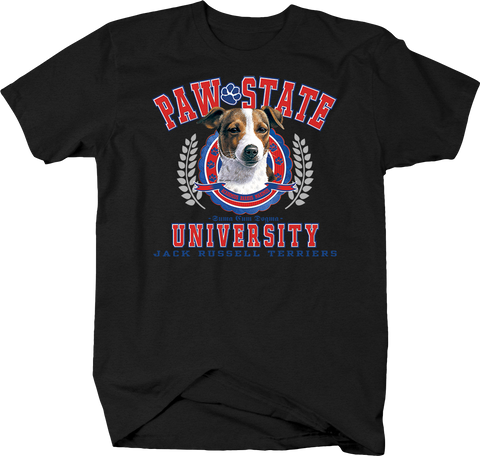 Paw State University Jack Russell Terriers Animal Lover Dog Puppy Treat Family