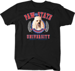 Paw State University Honey Poodle Animal Lover Dog Puppy Bark Treat Family