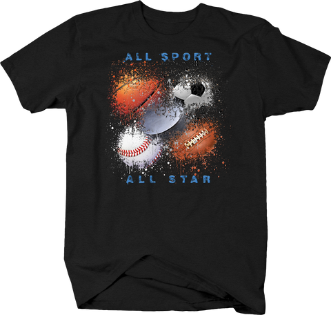 All Sport All Star Basketball Hockey Soccer Footbal Baseball