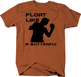 Float Like a Butterfly Boxing Gloves Training Rocky