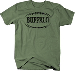 Distressed - BUFFALO Football Flag Tackle Home Team Edition
