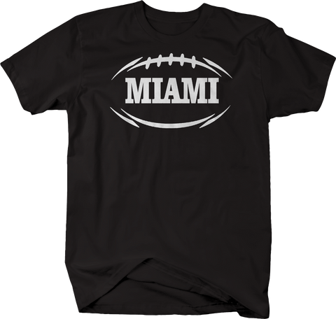 MIAMI Football Flag Tackle Home Team Edition