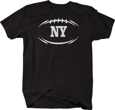 NY NEW YORK Football Flag Tackle Home Team Edition