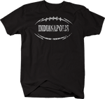 Distressed - INDIANAPOLIS Football Flag Tackle Home Team Edition
