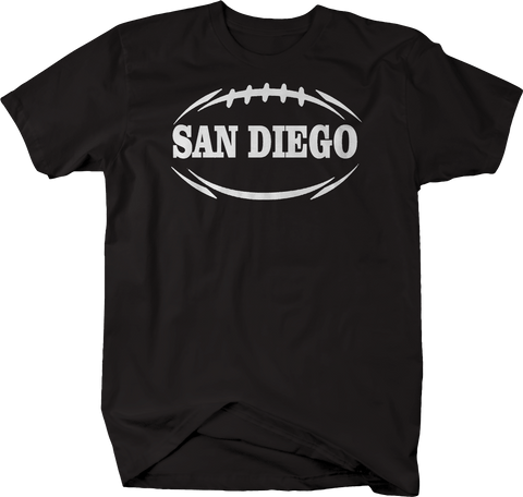 SAN DIEGO Football Flag Tackle Home Team Edition